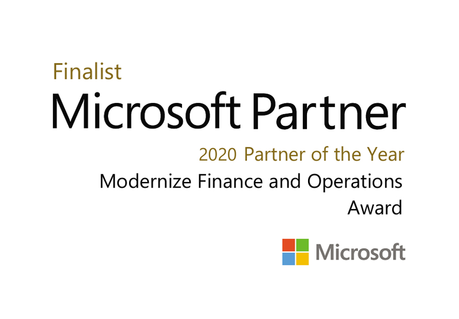 GWS GROUP recognized as a finalist for the Modernize Finance and Operations 2020 Microsoft Partner of the Year